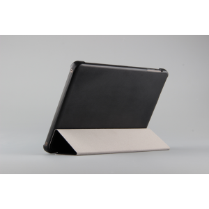 Чехол флип подставка сегментарный для Lenovo Miix 3 8 Черный