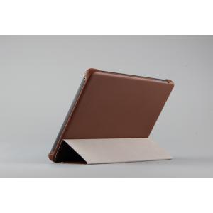 Чехол флип подставка сегментарный для Lenovo Miix 3 8 Коричневый
