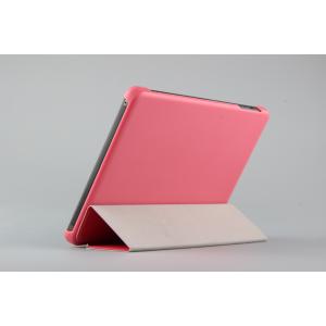 Чехол флип подставка сегментарный для Lenovo Miix 3 8 Розовый