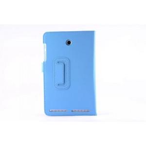 Чехол подставка с рамочной защитой для Acer Iconia Tab 8 A1-840 Голубой