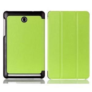Чехол флип подставка сегментарный для Acer Iconia Tab 8 A1-840 Зеленый
