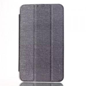 Текстурный чехол флип подставка сегментарный на пластиковой полупрозрачной основе для Acer Iconia Tab 8 A1-840