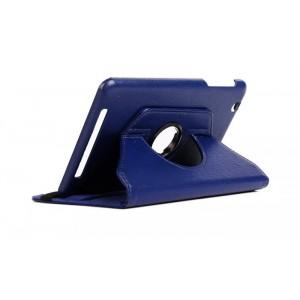 Чехол подставка роторный для Acer Iconia One 8 B1-810 Синий