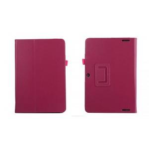 Чехол подставка с рамочной защитой для Acer Iconia Tab 10 A3-A20 Пурпурный