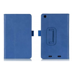 Чехол подставка с рамочной защитой и внутренними отсеками для Acer Iconia One 7 B1-730 Синий