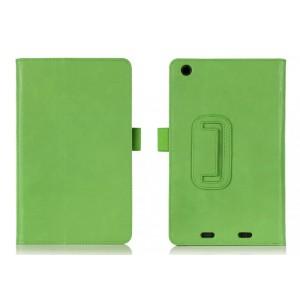 Чехол подставка с рамочной защитой и внутренними отсеками для Acer Iconia One 7 B1-730 Зеленый