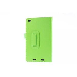 Чехол подставка с рамочной защитой для Acer Iconia One 7 B1-730 Зеленый