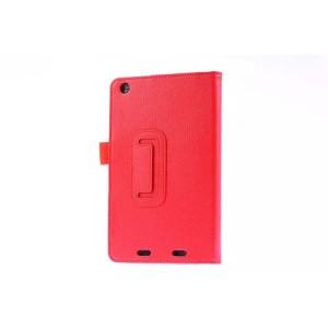 Чехол подставка с рамочной защитой для Acer Iconia One 7 B1-730 Красный