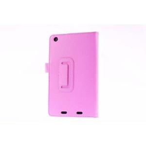 Чехол подставка с рамочной защитой для Acer Iconia One 7 B1-730 Розовый