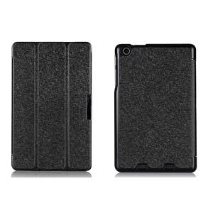 Текстурный чехол флип подставка сегментарный для Acer Iconia One 7 B1-730 Черный
