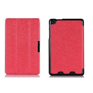 Текстурный чехол флип подставка сегментарный для Acer Iconia One 7 B1-730 Красный