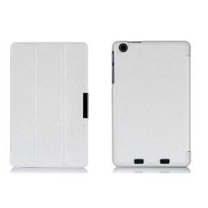 Текстурный чехол флип подставка сегментарный для Acer Iconia One 7 B1-730 Белый