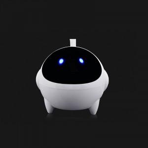 Портативные стереодинамики с регулятором громкости серия Alien 3W 60-20000Гц Белый