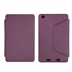 Чехол подставка с рамочной защитой и внутренними отсеками для Acer Iconia One 7 B1-730 Фиолетовый