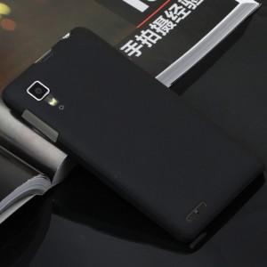 Пластиковый матовый непрозрачный чехол для Lenovo P780