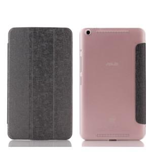 Текстурный чехол флип подставка сегментарный на пластиковой полупрозрачной основе для Lenovo Tab S8