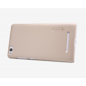Пластиковый матовый нескользящий премиум чехол для Xiaomi Mi4i