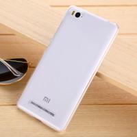 Пластиковый градиентный полупрозрачный чехол для Xiaomi Mi4i Белый