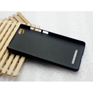 Пластиковый матовый металлик чехол для Xiaomi Mi4i