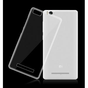 Силиконовый транспарентный чехол для Xiaomi Mi4c