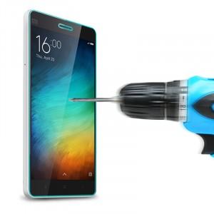 Ультратонкое износоустойчивое сколостойкое олеофобное защитное стекло-пленка для Xiaomi Mi4c