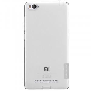 Силиконовый матовый полупрозрачный чехол для Xiaomi Mi4i