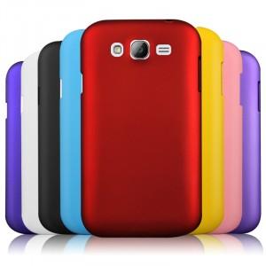 Пластиковый матовый непрозрачный чехол для Samsung Galaxy Grand