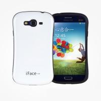 Эргономичный силиконовый чехол для Samsung Galaxy Grand Белый