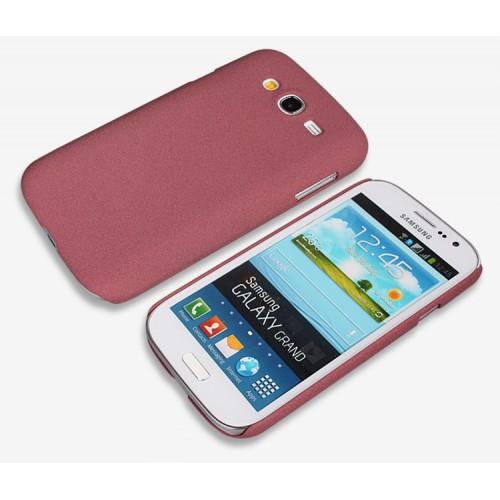 Пластиковый матовый чехол с повышенной шероховатостью для Samsung Galaxy Grand