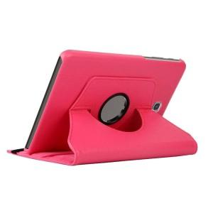 Чехол подставка роторный для Samsung Galaxy Tab A 8 Пурпурный