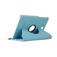 Чехол подставка роторный для Samsung Galaxy Tab A 8 Голубой