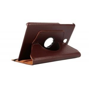 Чехол подставка роторный для Samsung Galaxy Tab A 8 Коричневый