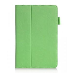 Чехол подставка с рамочной защитой и внутренними отсеками для Samsung Galaxy Tab A 8 Зеленый
