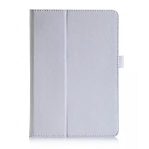 Чехол подставка с рамочной защитой и внутренними отсеками для Samsung Galaxy Tab A 8 Белый