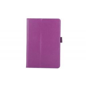 Чехол подставка с рамочной защитой для Samsung Galaxy Tab A 8 Фиолетовый