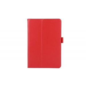 Чехол подставка с рамочной защитой для Samsung Galaxy Tab A 8 Красный