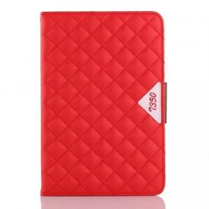 Чехол подставка с внутренними отсеками для Samsung Galaxy Tab A 8 Красный