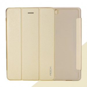 Чехол флип подставка сегментарный для Samsung Galaxy Tab A 8 Бежевый