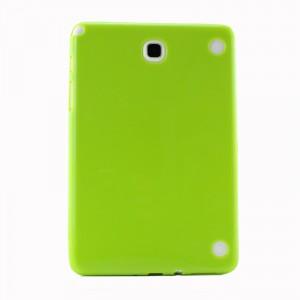 Силиконовый матовый непрозрачный чехол для Samsung Galaxy Tab A 8 Зеленый