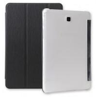 Текстурный чехол флип подставка сегментарный для Samsung Galaxy Tab A 9.7 Черный