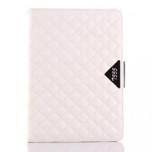 Кожаный чехол подставка с внутренними отсеками для Samsung Galaxy Tab A 9.7 Белый