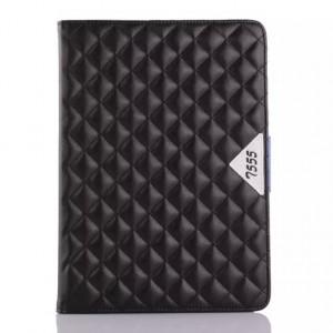 Кожаный чехол подставка с внутренними отсеками для Samsung Galaxy Tab A 9.7 Черный