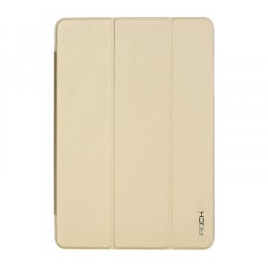 Чехол флип подставка сегментарный для Samsung Galaxy Tab A 9.7 Бежевый