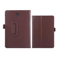 Чехол подставка с рамочной защитой для Samsung Galaxy Tab A 9.7 Коричневый