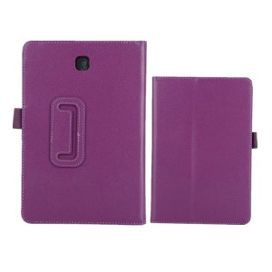 Чехол подставка с рамочной защитой для Samsung Galaxy Tab A 9.7 Фиолетовый