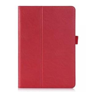 Чехол подставка с рамочной защитой и внутренними отсеками для Samsung Galaxy Tab A 9.7 Красный