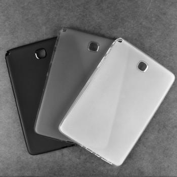 Силиконовый матовый полупрозрачный чехол для Samsung Galaxy Tab A 9.7