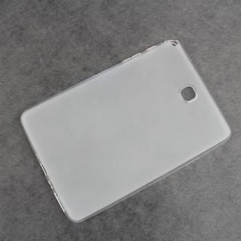 Силиконовый матовый полупрозрачный чехол для Samsung Galaxy Tab A 9.7 Белый
