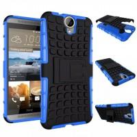 Силиконовый чехол экстрим защита для HTC One E9+ Синий