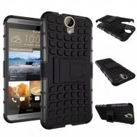 Силиконовый чехол экстрим защита для HTC One E9+ Черный